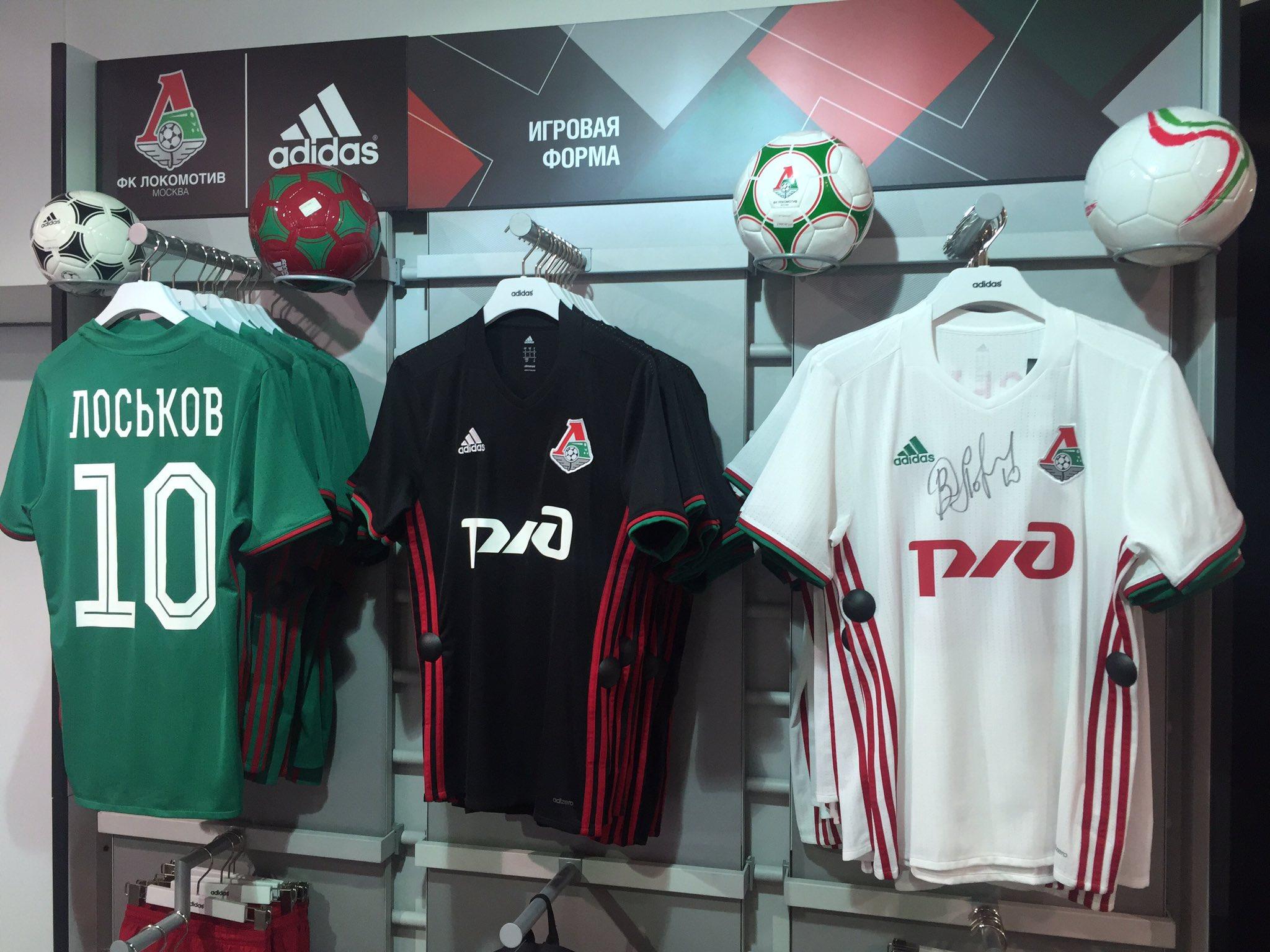 Футболки с автографом Дмитрия Лоськова – в клубном магазине