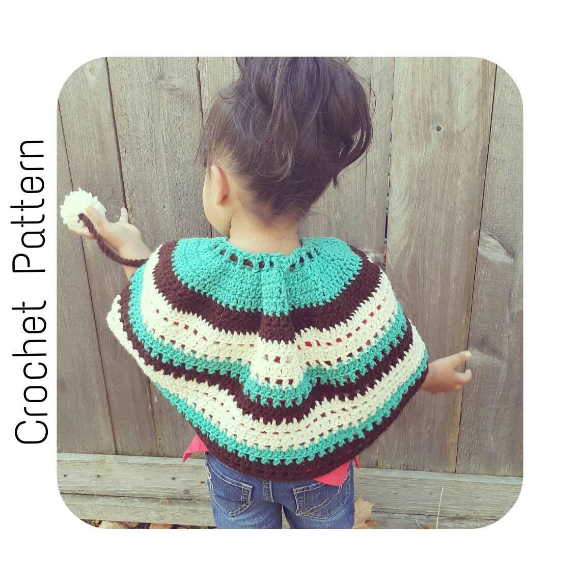 Serendipityasalways On Twitter Crochet Pattern Girls Poncho