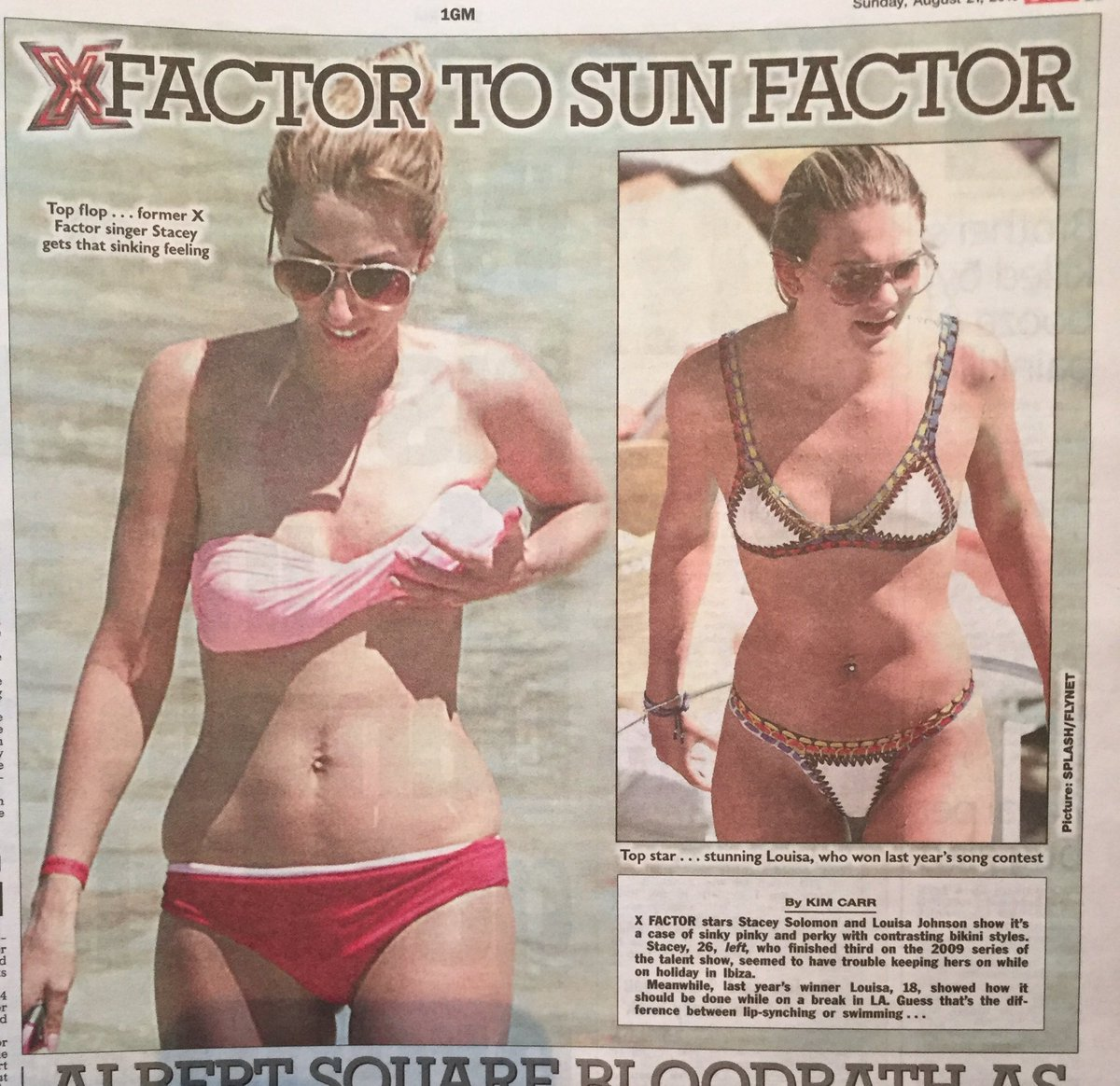 I LOVE MY BODY @TheSun My boobs are a result of being pregnant & breast feeding & I love them. I Am just as sexy!