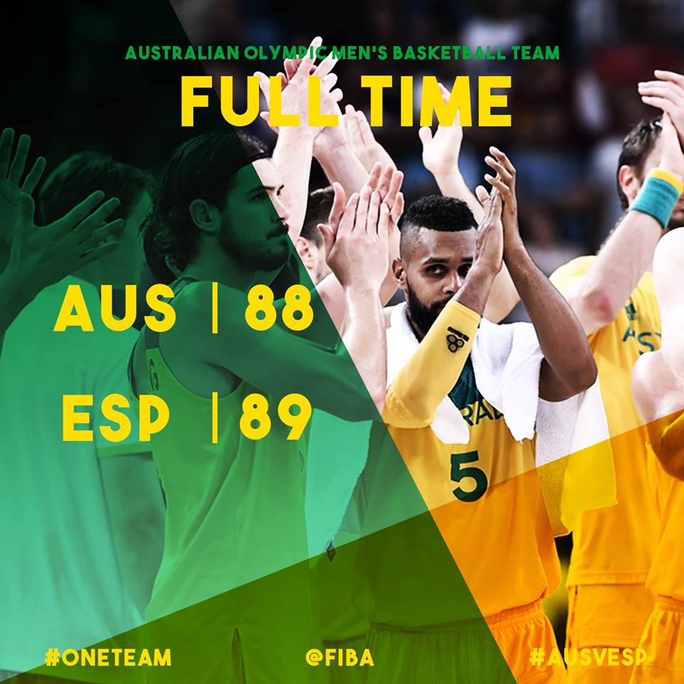 #ONETEAM | The whole country can be proud of this team!   #AUS are a team to be reckoned with in basketball.