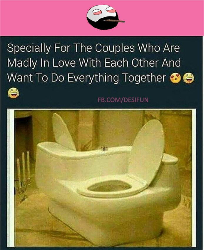Magnificent Desifun On Twitter Toilet Seat For The Couples Who Are Creativecarmelina Interior Chair Design Creativecarmelinacom