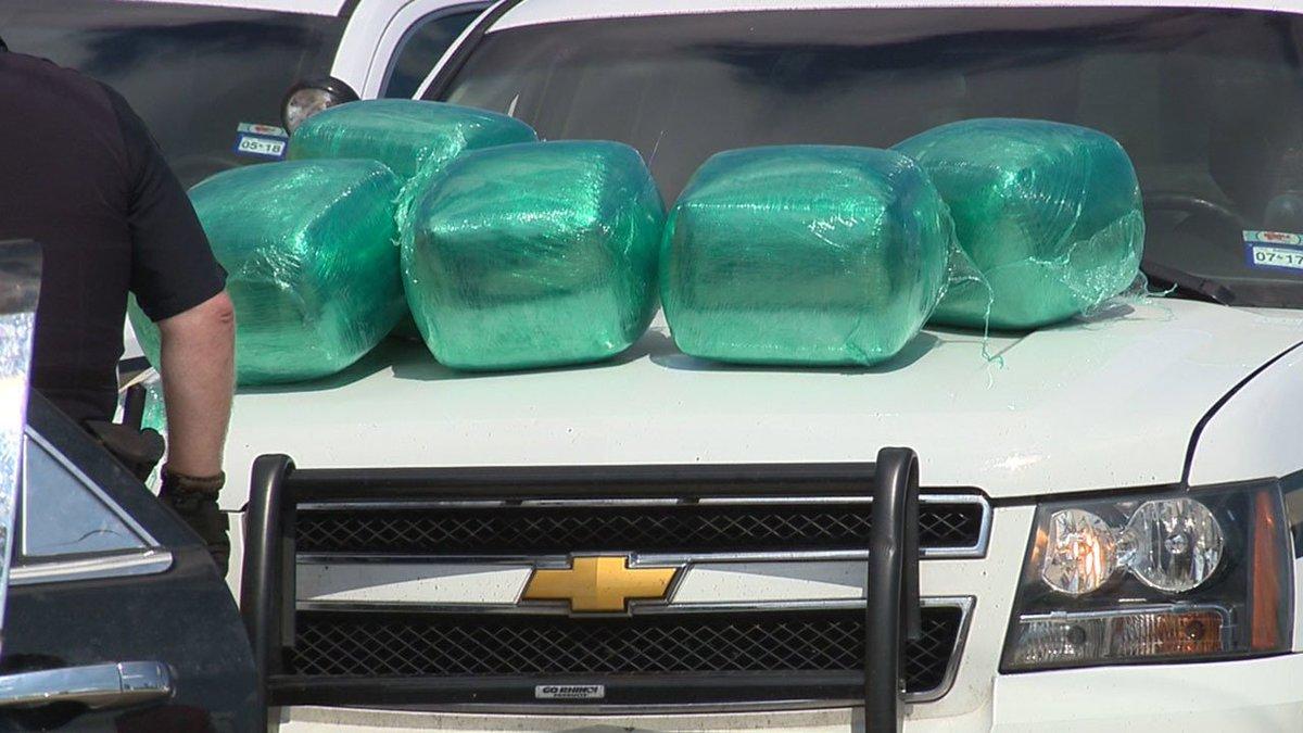 Traffic stop leads BCSO deputies to make large drug bust 10 pm KSATnews