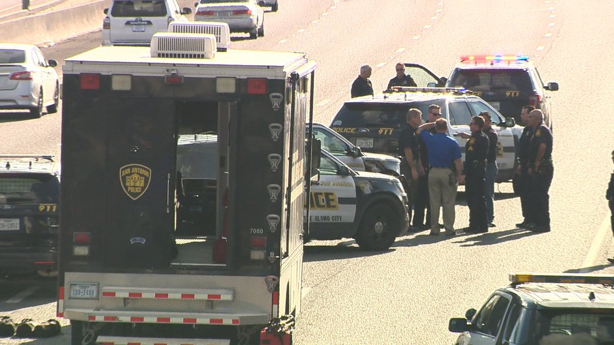 Suspect kills self after leading police on high-speed chase KSATnews