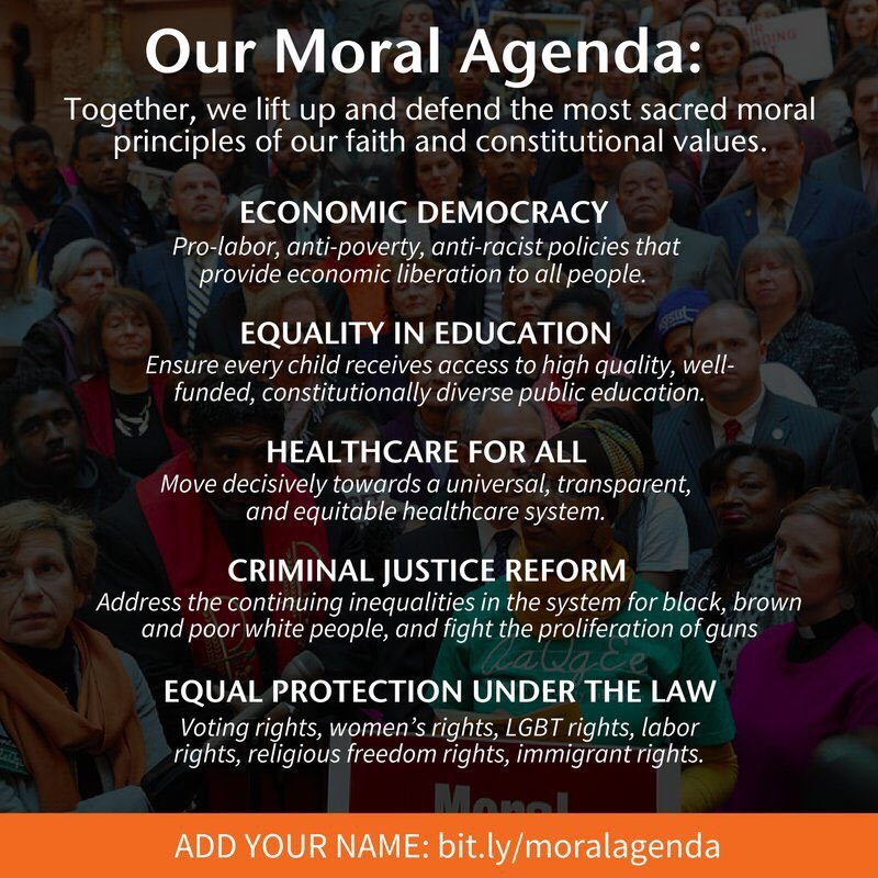 Do you believe in the dignity of all? Add your name to the #MoralAgenda #MoralRevival https://t.co/Dm6XrgbZbC
