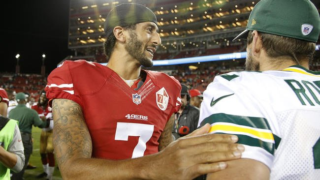 Colin Kaepernick's seated stance deserves respect, not applause or attacks, says @DavidHaugh