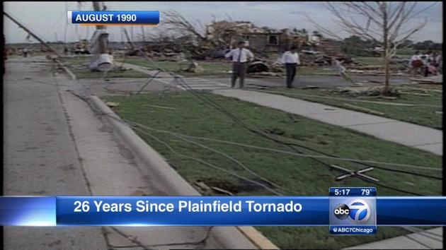 Today marks 26-year anniversary of deadly Plainfield tornado