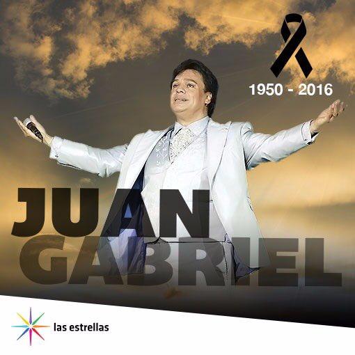 Siempre serás nuestro amor eterno e inolvidable... #ConLasEstrellas por siempre #JuanGabriel