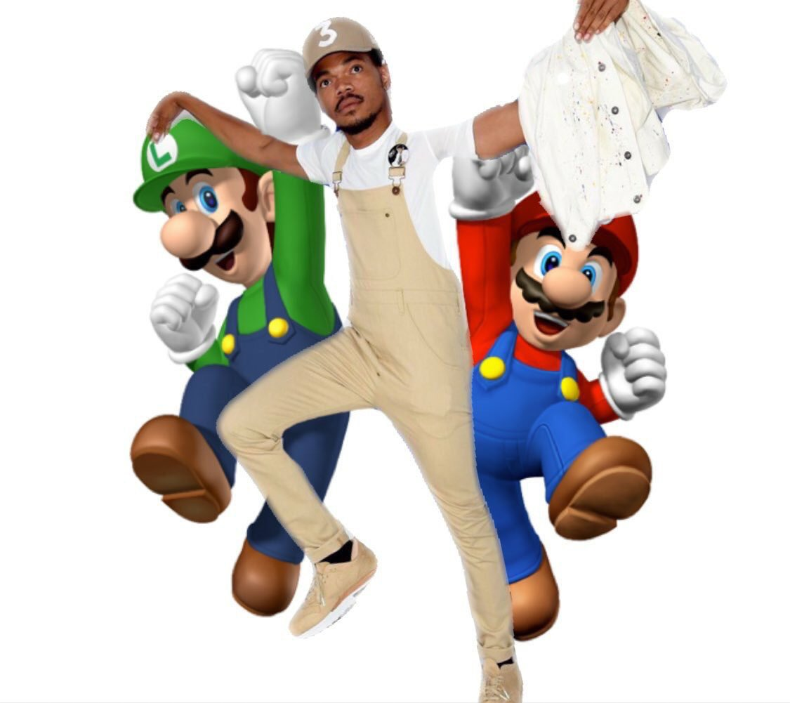 is chance the rapper a long lost mario brother