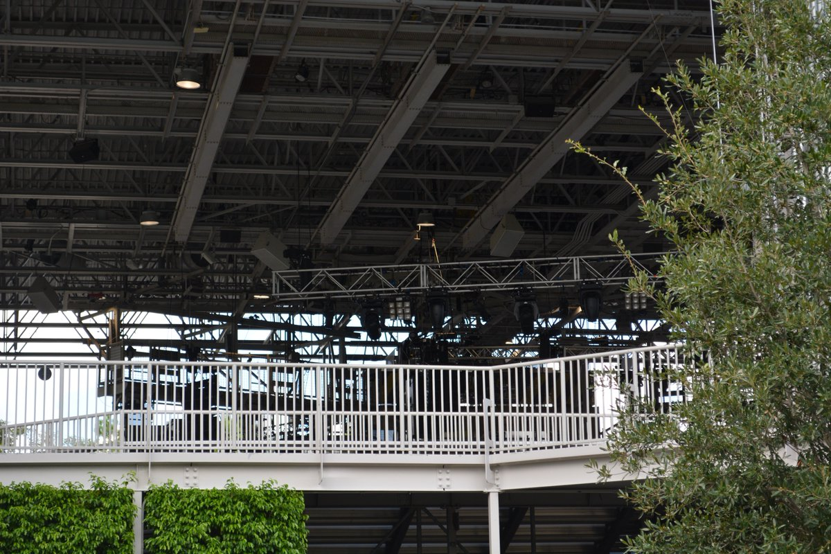 Park P On Twitter Lighting Rigs Going Up In Fear Factor