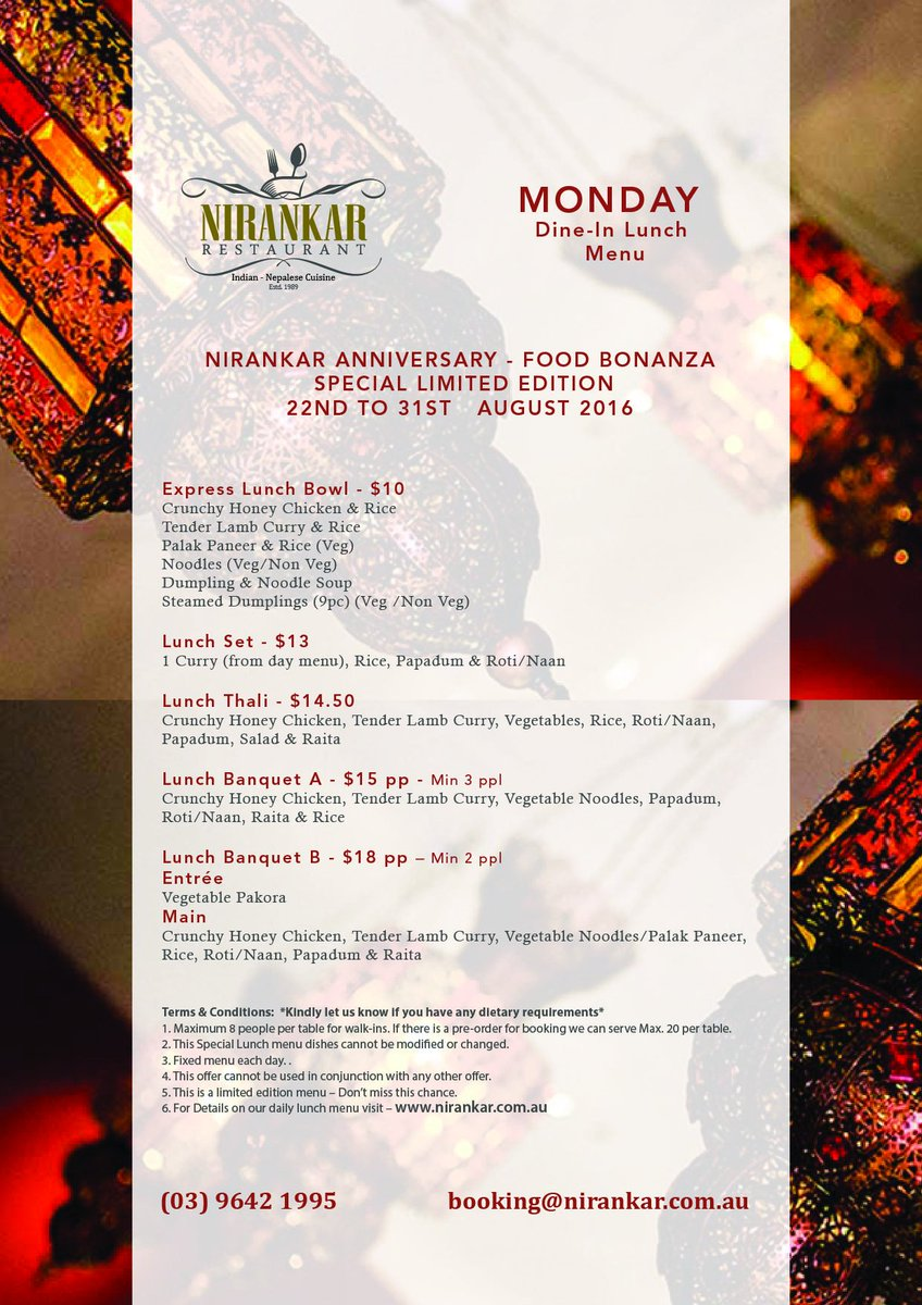 Nirankar Restaurant on Twitter: