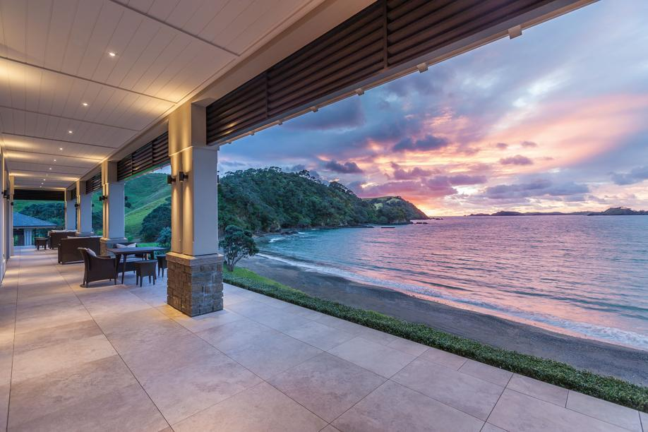 At Helena Bay in New Zealand, villas will go for as much as $3,500 a night along private beaches