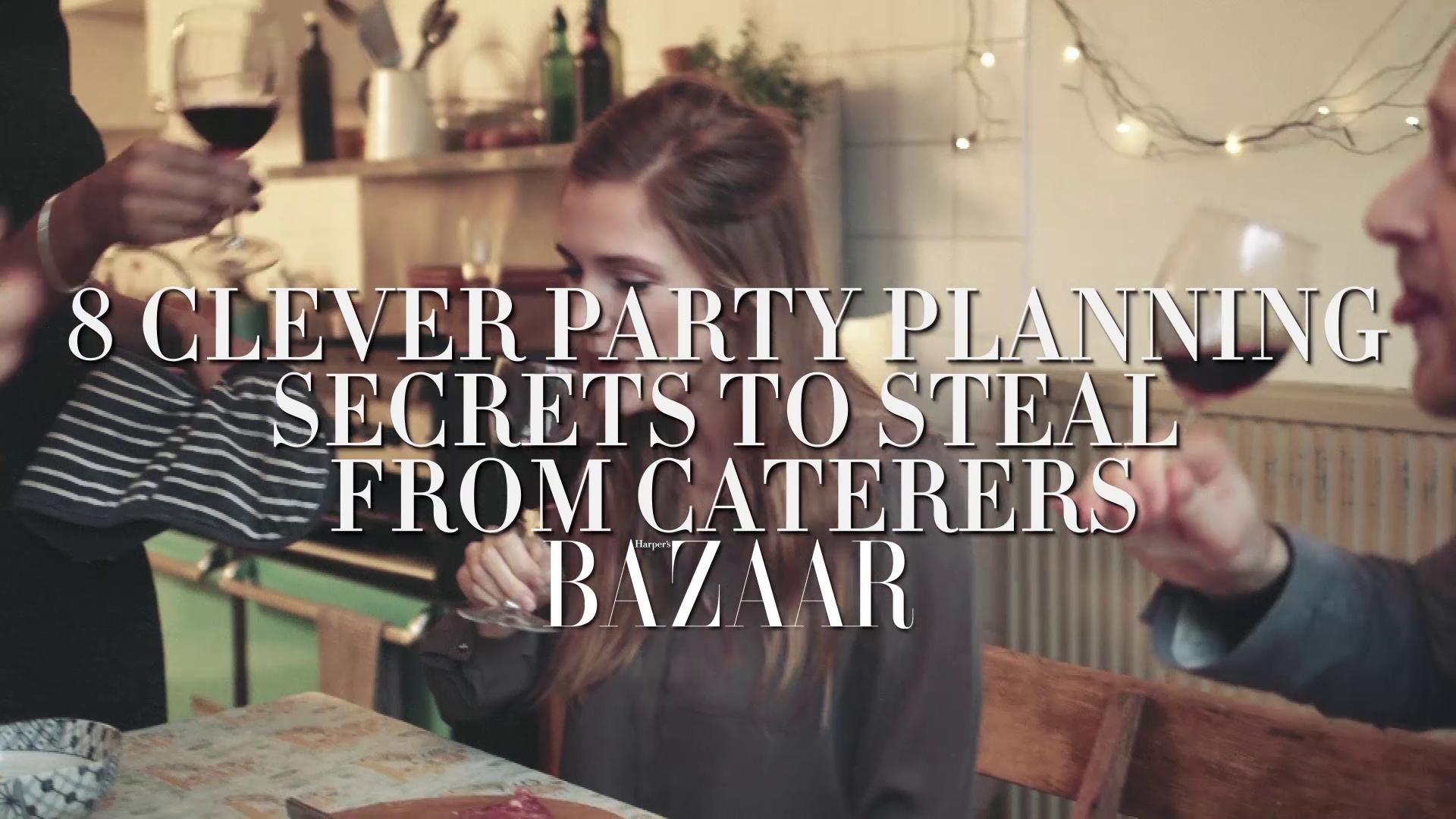 Caterers swear by these 8 party-planning tricks https://t.co/tdFfZ1zpvN
