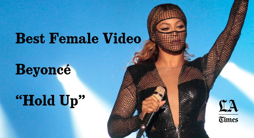 #Beyonce continues winning the #VMAs https://t.co/9txV4bzdfM