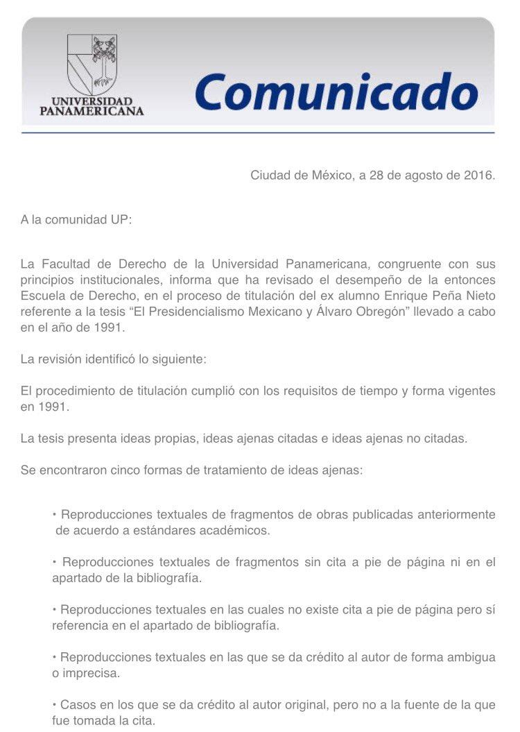 Dice la @UPMexico que el reglamento no aplica a exalumnos: https://t.co/3qpszVpyIm