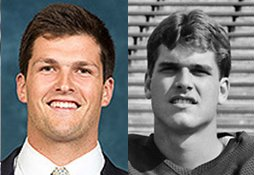 Image result for wilton speight and jim harbaugh