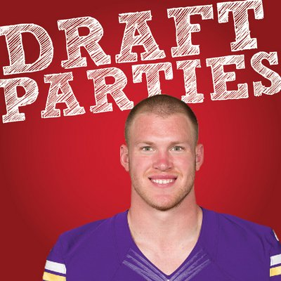 Call to book your draft party today and @KyleRudolph82 might just show up! Details: https://t.co/m6EWaGz8uc