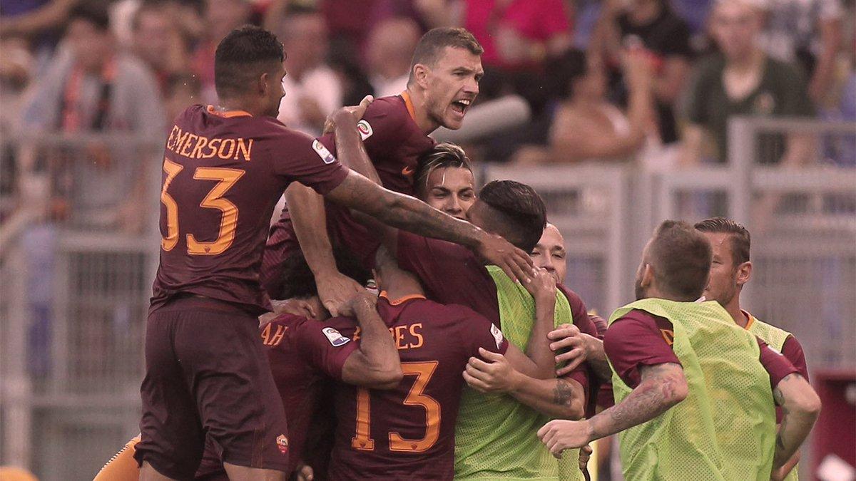 La Roma golea al Udinese y es el primer líder