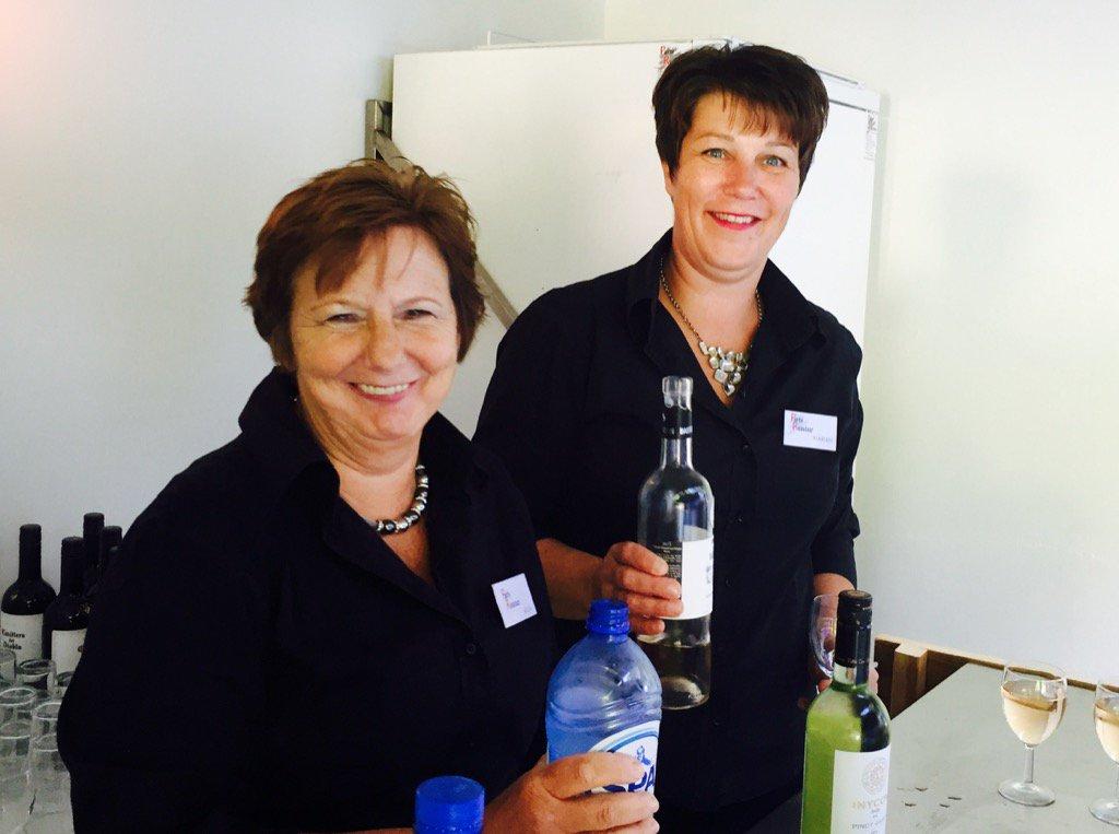 Het olijke duo was zaterdag ook weer van de partij! #catering #oplocatie #feestje #partyregelaar