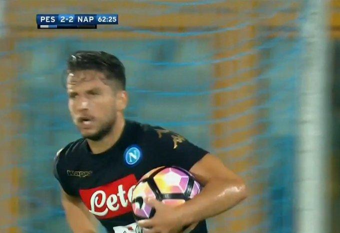 Pescara e Napoli è finita 2-2