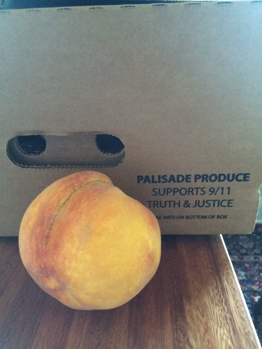 Colorado peaches are juicy, but not as juicy as what REALLY happened on 9/11 https://t.co/czhZeoKqDQ