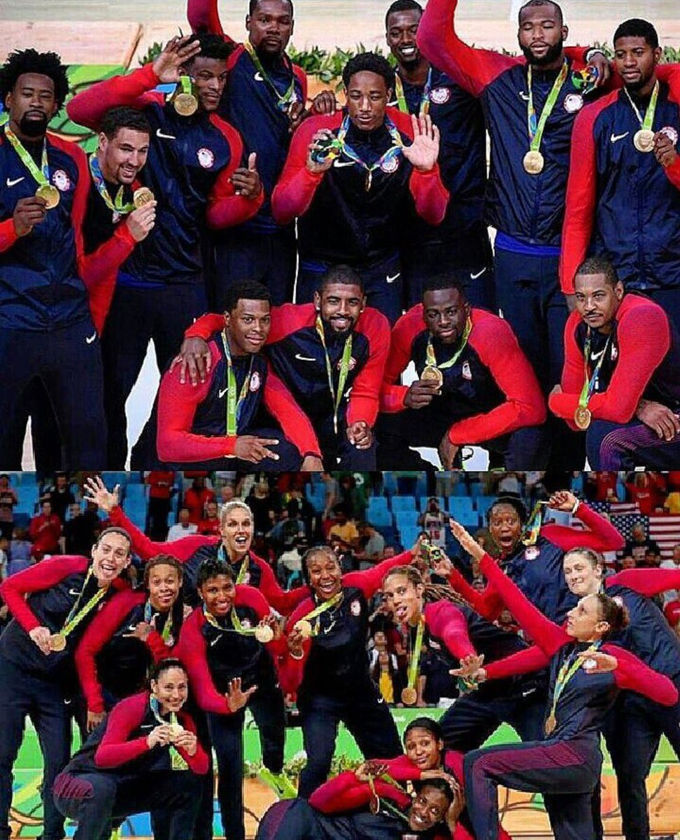 Great job fellas ! So proud of you guys now let's bring the Golden squad home