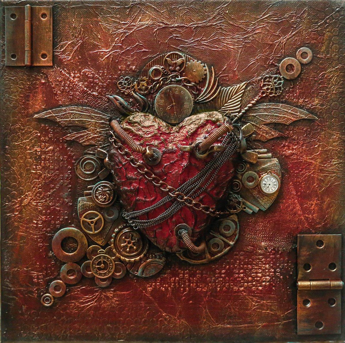 #art #steampunk  My mechanical heart.  https://t.co/Rh1JctD7Lu