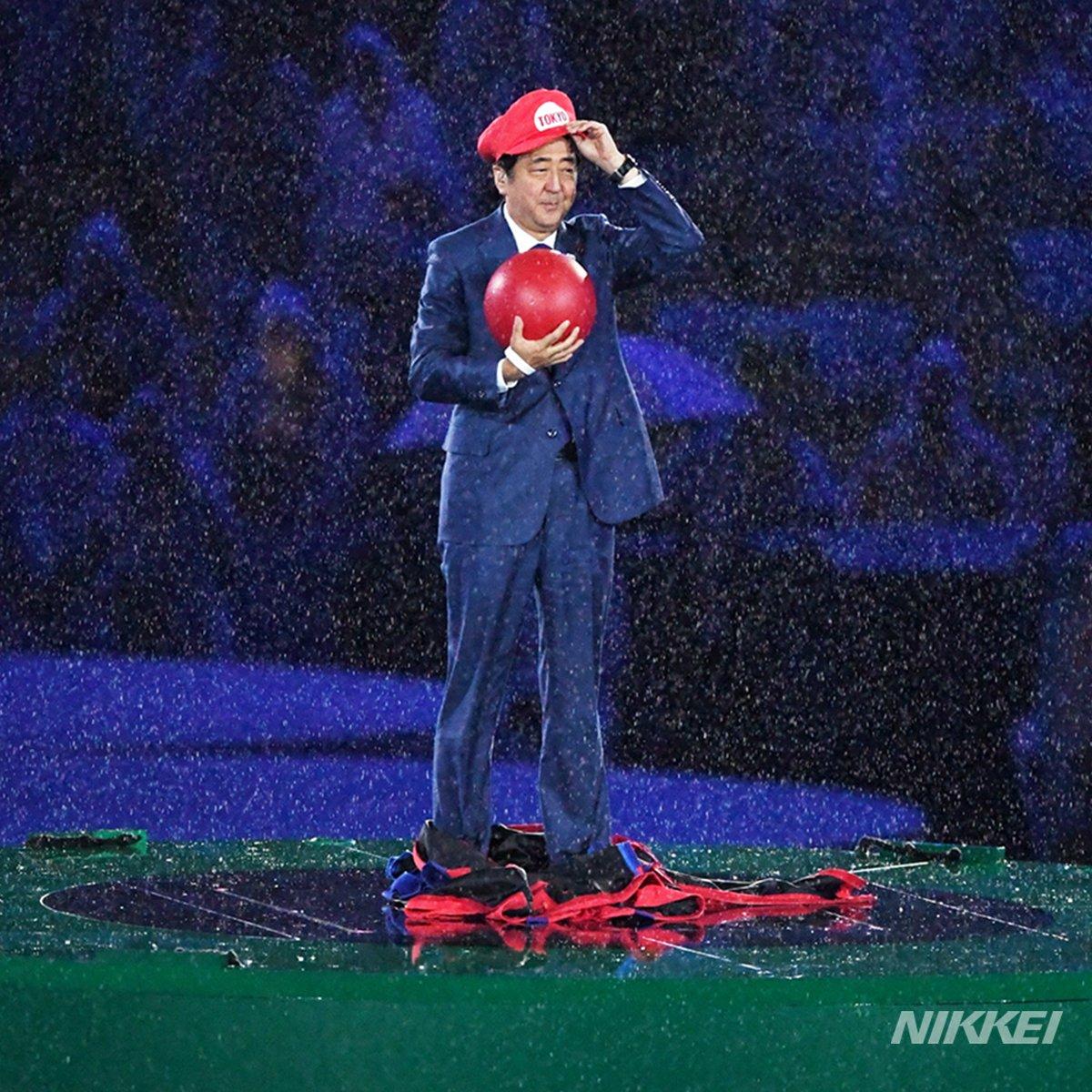 【#リオ五輪】リオから東京へ引き継ぎ。 #閉会式 では人気キャラクター #マリオ にふんした #安倍首相 がワープ土管から登場(柏) https://t.co/xBr9ZZq5yU #SuperMario #RiotoTokyo