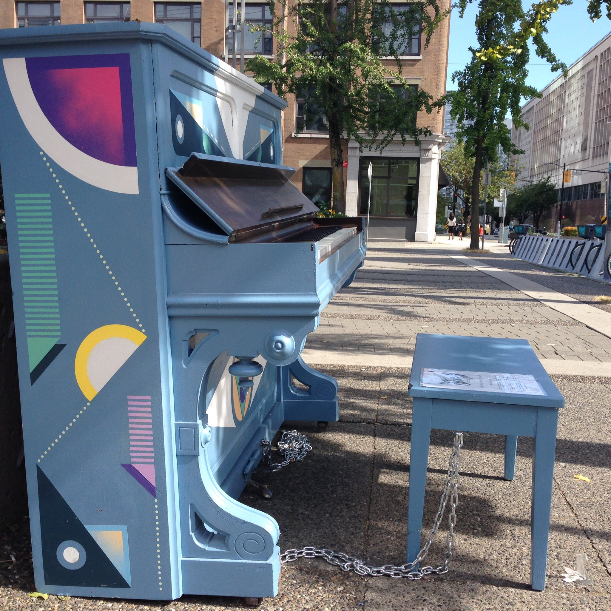 The easiest piano to play trills on was Cathedral Square on Richards. @Keys2Streets #keys2streets https://t.co/Dk4s7Cr9ah