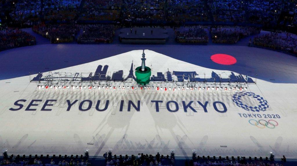 Cerimonia di chiusura di Rio 2016 passa il testimone alle Olimpiadi di Tokyo 2020