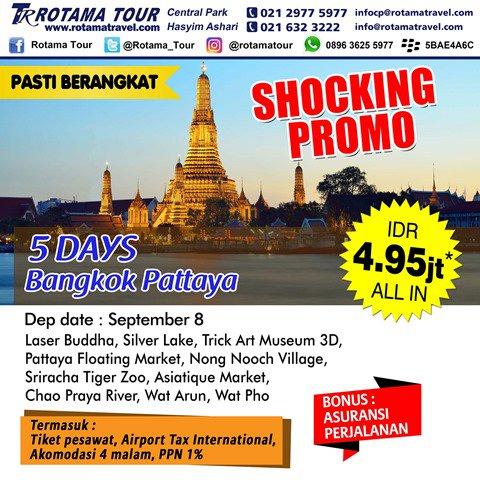 Rotama Tour On Twitter Shocking Promo Bangkok Pattaya September 2016 From Rotama Tour Infotour
