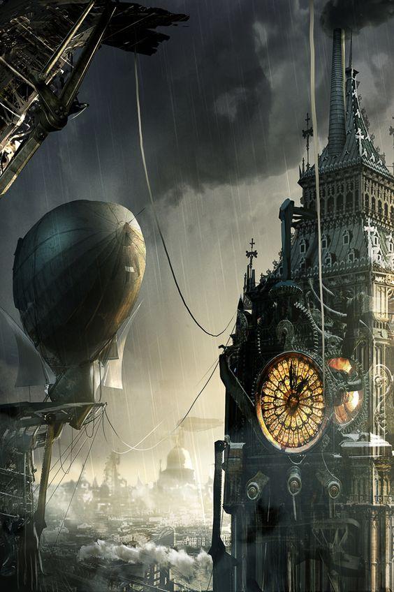 #steampunk #art by Adam Burn