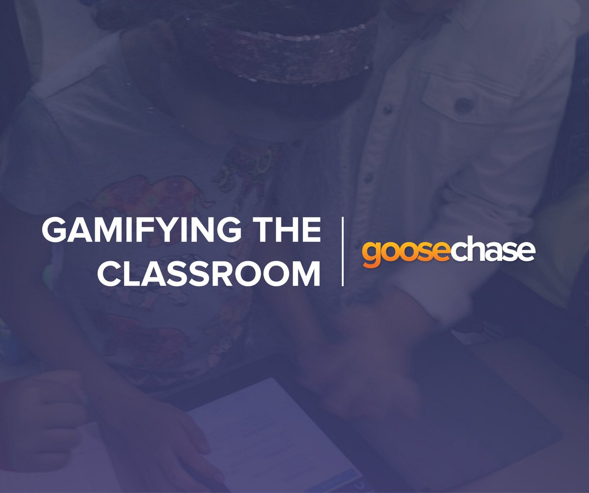 goosechase on twitter attending logicwing s dlsummit16 at goosechase on twitter attending logicwing s dlsummit16 at shufsd join phileverson at 10 30am to learn about gamifying your classroom