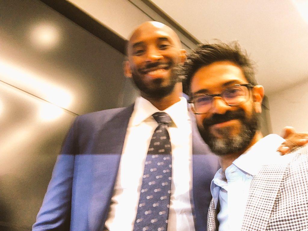 RT @bigsharm: Thrilled to have @kobebryant and @bryantstibel joining me @unclerush and the @alldefdigital fam. https://t.co/irfXXkLDTY