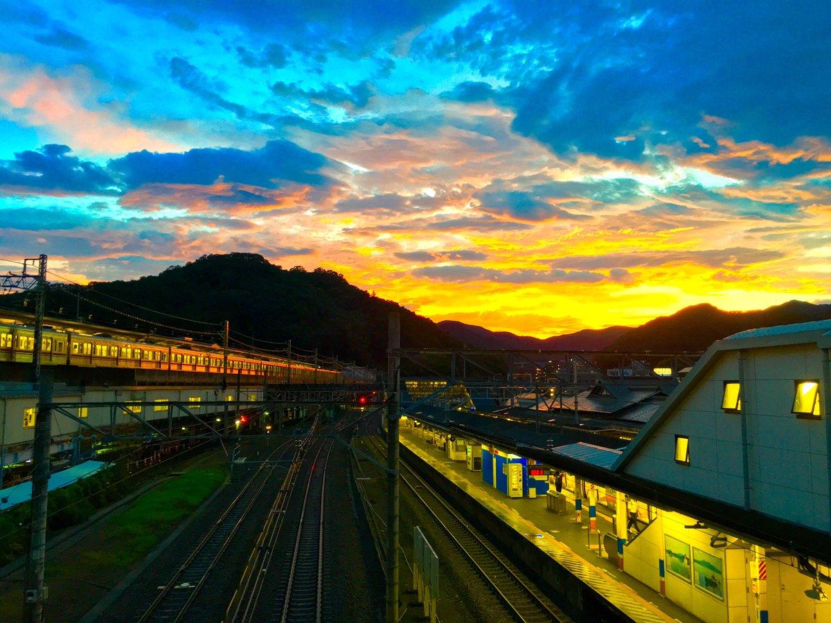 [景色]台風通過後の空綺麗だ iphone6sで撮影[2016年8月22日]