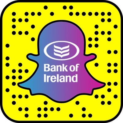 Image result for bank of ireland snapchat