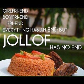 Because Jollof Rice is Bae it had to have its own #WorldJollofRiceDay  Make sure no one treats you like White Rice … https://t.co/sIB6jLEw0e