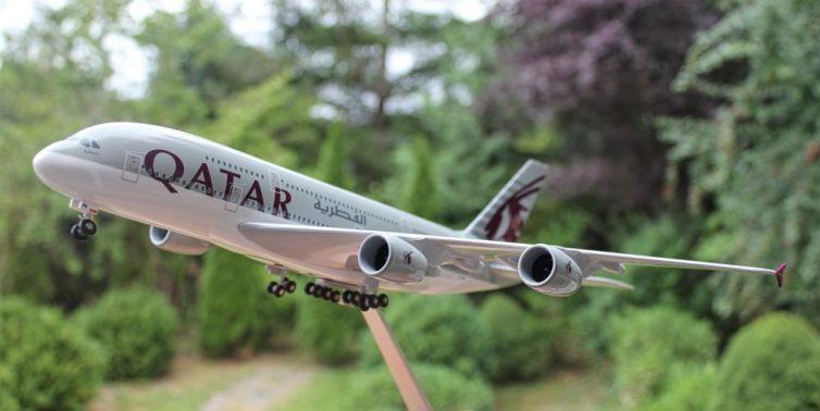 WIN a @QatarAirways @Airbus A380 model! How? Follow us + RT this Tweet. More deets: https://t.co/LztjGCUrtY #AvGeek https://t.co/vNbfQ88zAK