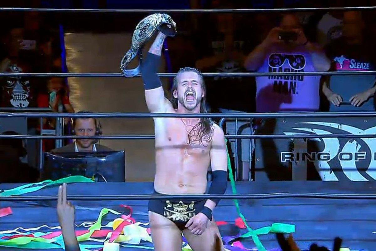 Resultado de imagem para adam cole roh world champion