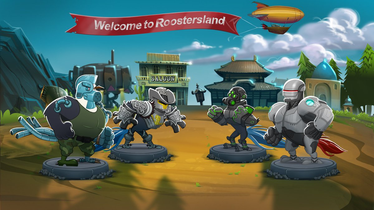 Greetings from our beloved land, ROOSTERSLAND! #RoosterWarsGame https://t.co/iQS5kzxk8t