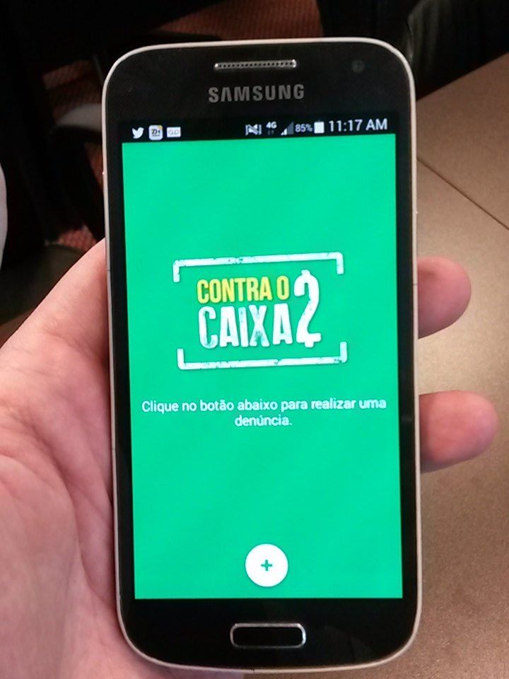Cidadão pode baixar o aplicativo para denunciar o caixa 2 nas eleições municipais no site da @oabrs #ContraoCaixa2 https://t.co/pb6ZPwAI0q