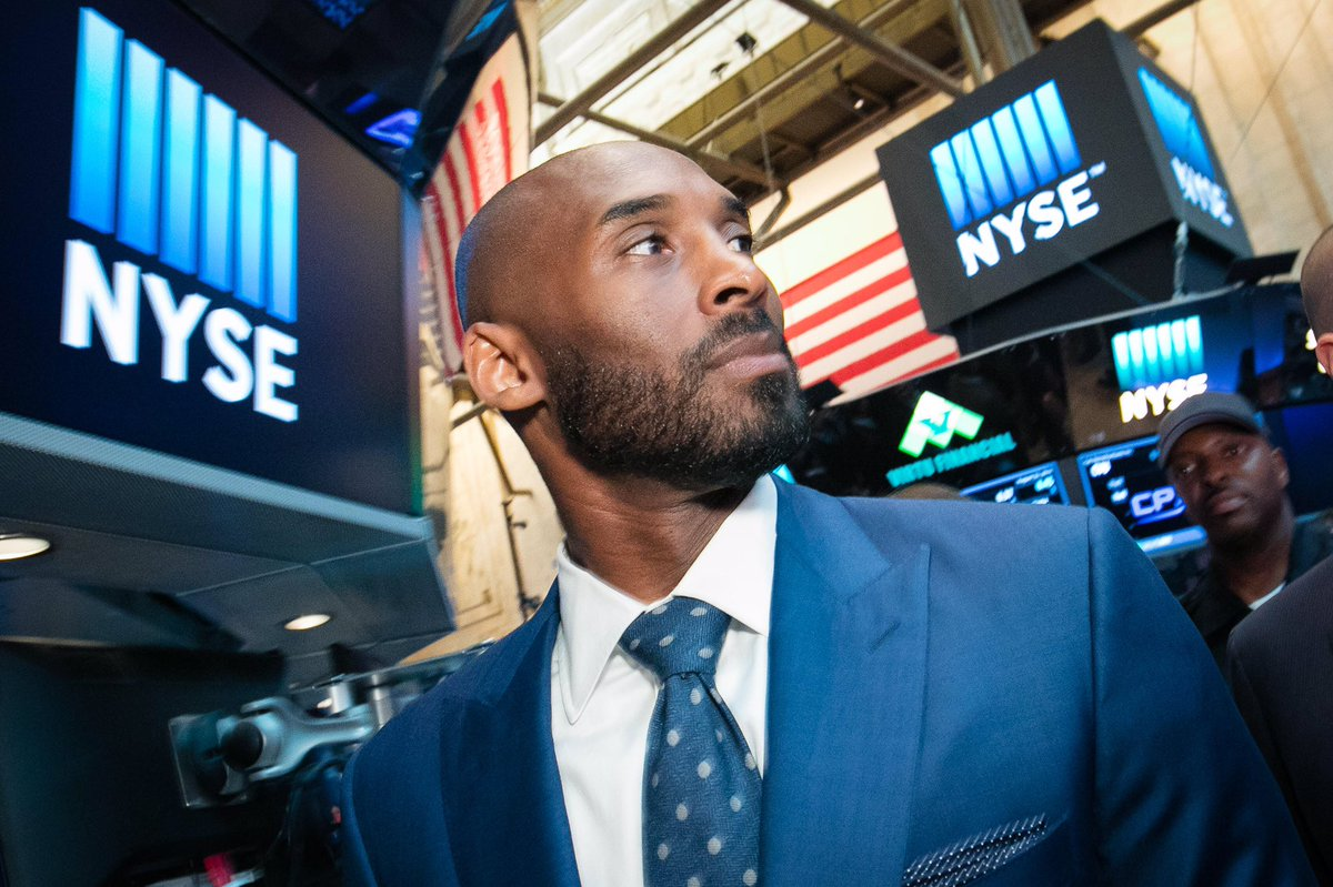 Today @kobebryant and @BryantStibel unveil their $100 Million dollar Venture Capital Fund at the NYSE https://t.co/HpdT9LdM7a