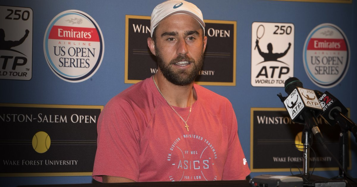 """""""I'm just a guy from California who loves tennis."""" -@SJohnson_89  And now he's the top ranked American in the world! https://t.co/HoCthshKTX"""
