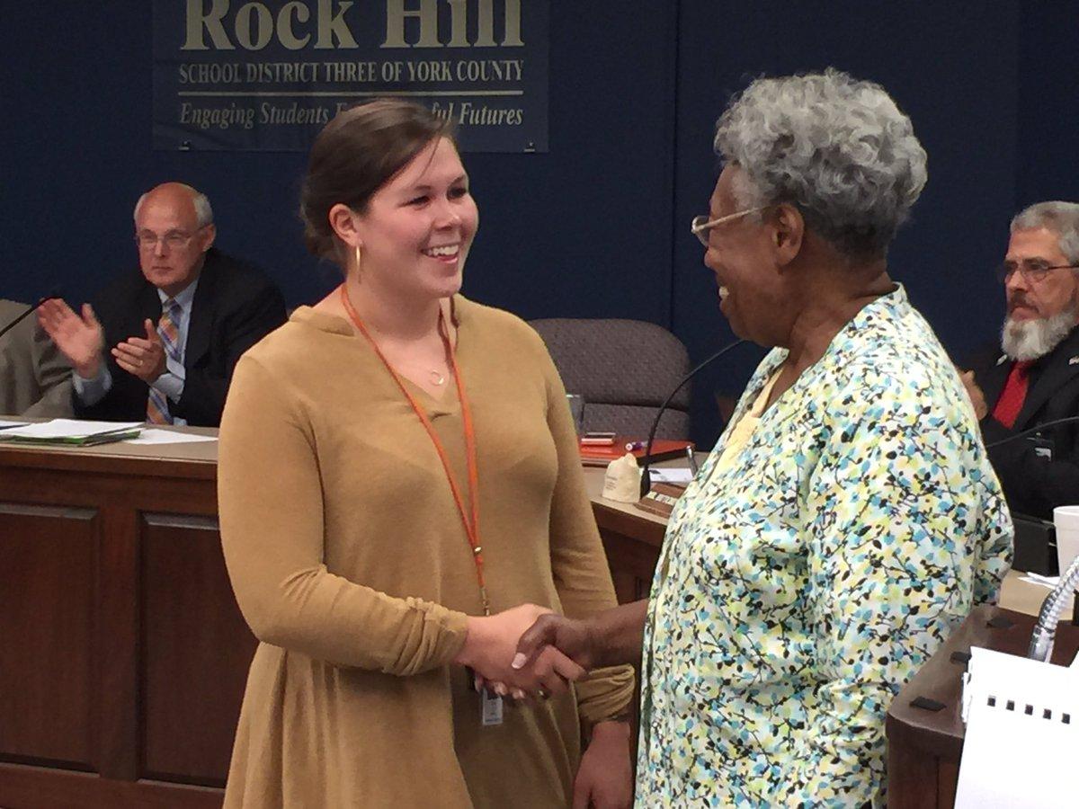 Rock Hill Schools On Twitter Congrats To Ebinportes Teacher Emma