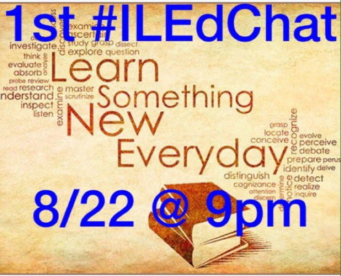 #iledchat tonight! Making meaningful connections with students! Join Us! #KidsDeserveIt #principalsinaction https://t.co/OZgFjgCGZ2