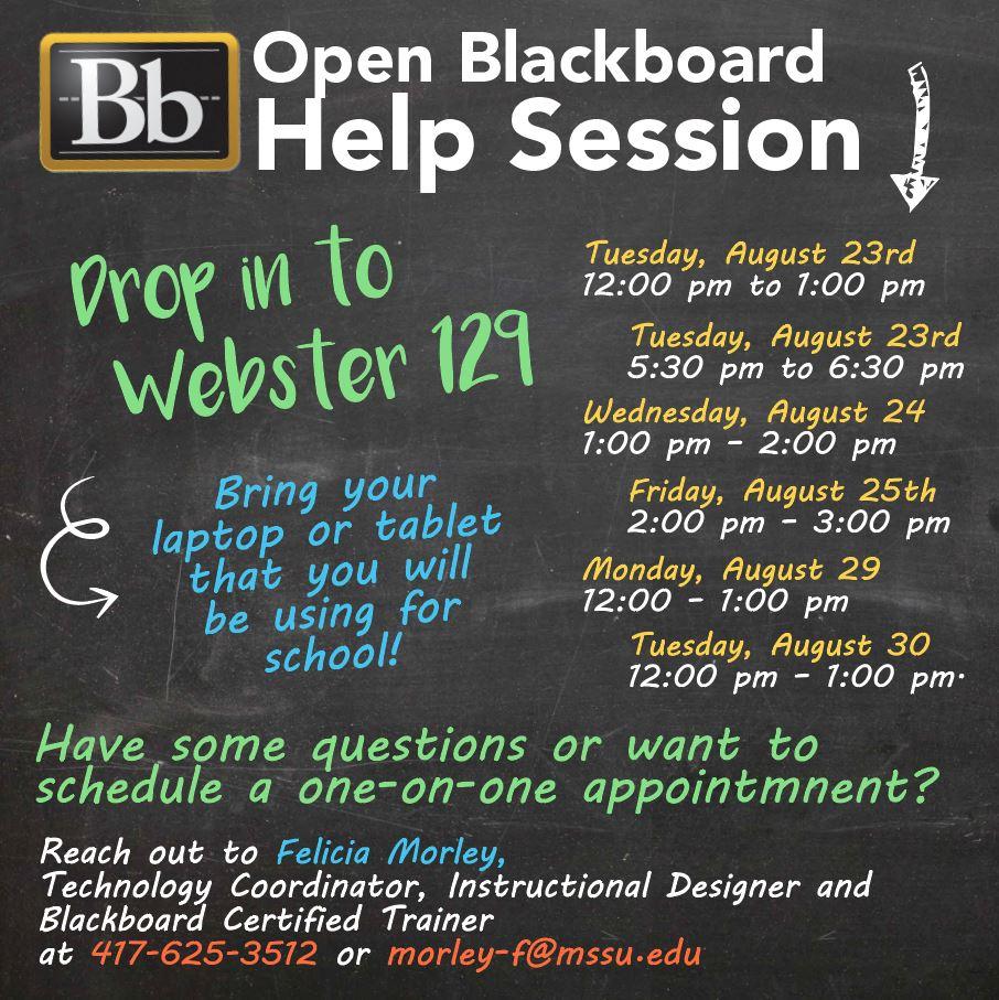 Blackboard Help Desk Mssu 14 3 Hus Noorderpad De