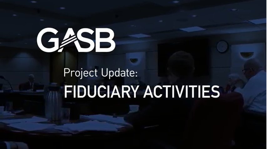 gasb and fasb Unlike the financial accounting standards board (fasb), gasb has rejected adopting a held-to-maturity category, primarily due to the difficulty of determining when a decline is other than temporary and the.