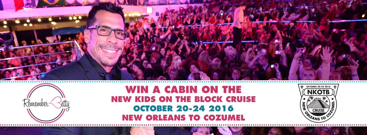 30 DAYS left in @dannywood's #NKOTBCruise16 raffle! Win your way on to @NKOTB's party boat! https://t.co/UCz4MJFt08 https://t.co/bMmCiFK1u7