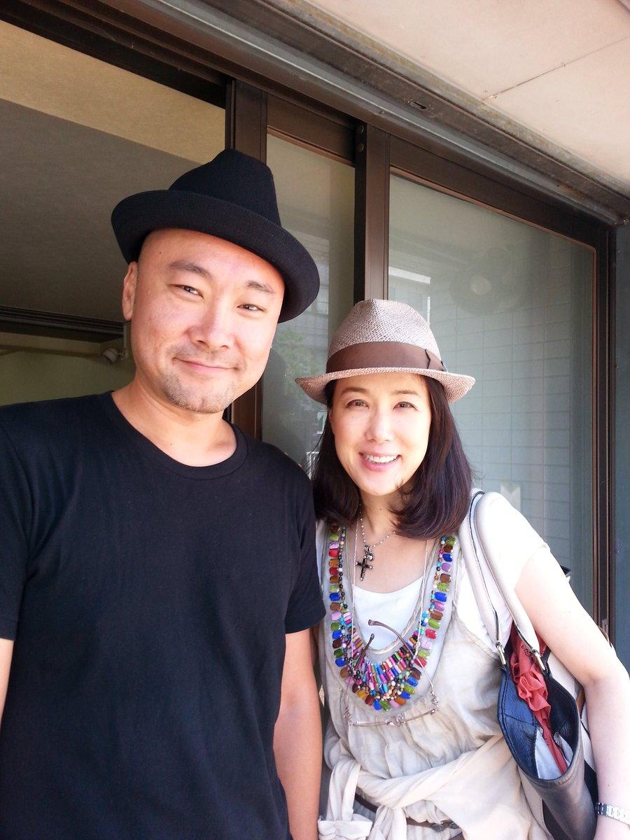 内田英治さんと筒井真理子さん