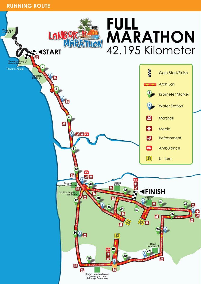 Lombok Marathon 2017 On Twitter Here The Initial Full Marathon