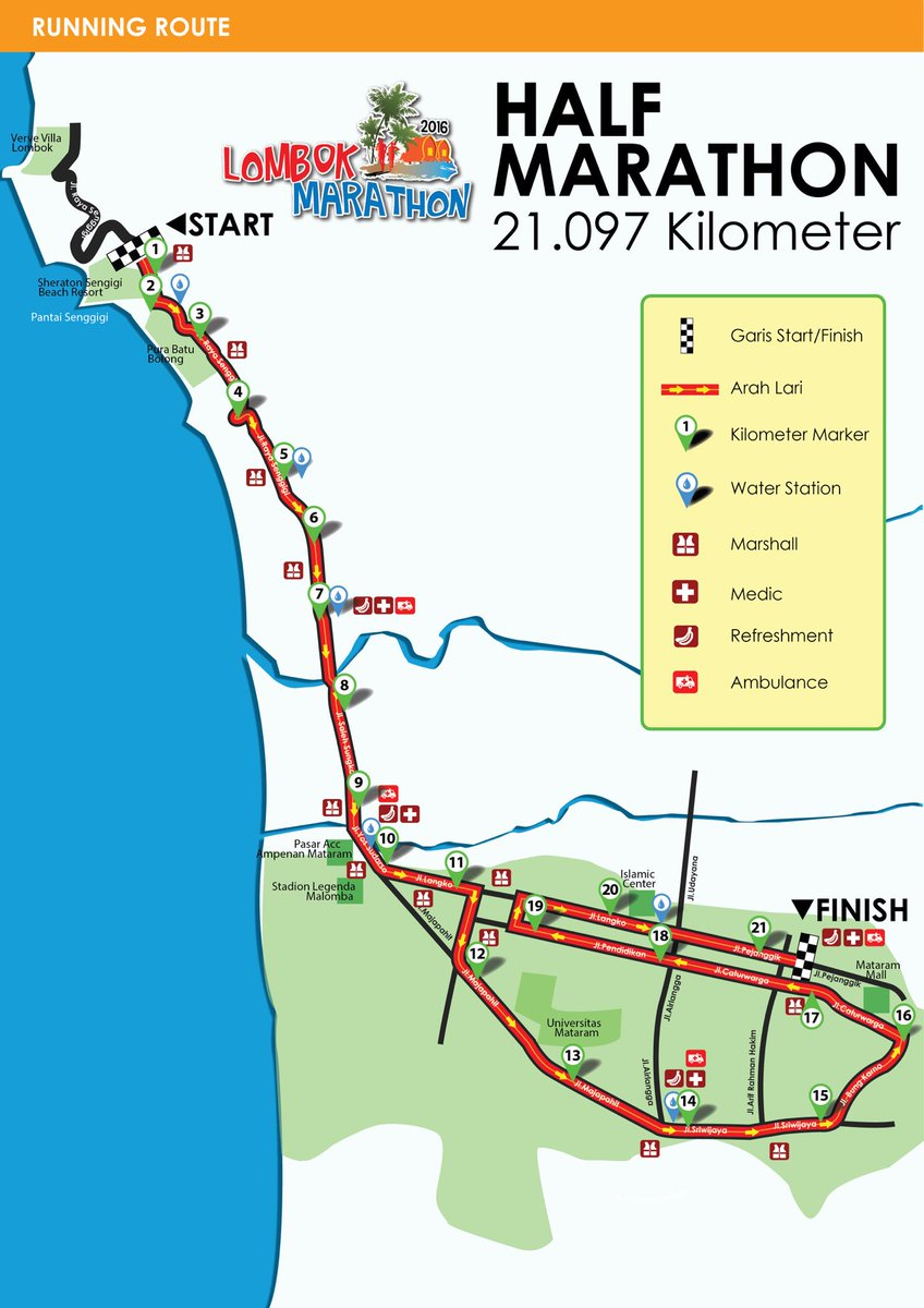 Lombok marathon 2017 on twitter here the initial half marathon lombok marathon 2017 on twitter here the initial half marathon course map lombokmarathon 2016 subject to aims certification later dunialari 1betcityfo Gallery